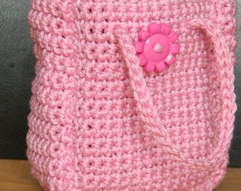 Small Gift Bag, Cosmetic Bag in Pink