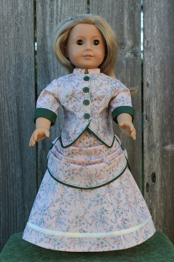 how to make a victorian jacket doll
