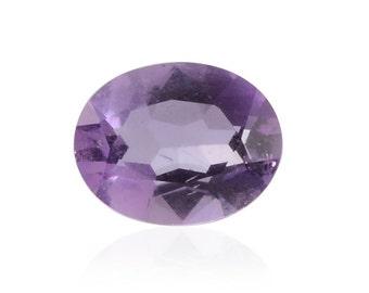Bolivian Amethyst Oval Cut Loose Gemstone 1A Quality 9x7mm TGW 1.40 cts.