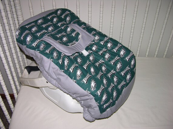 new infant seat carrier cover m w philadelphia eagles fabric. Black Bedroom Furniture Sets. Home Design Ideas