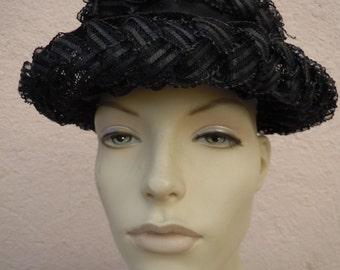 Stunning 1960s Black Hat