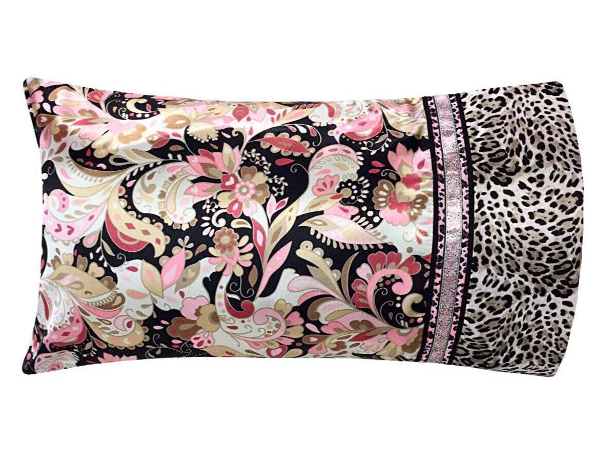 Leopard Print Body Pillow Case