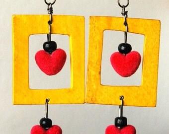 Mi Corazón Earrings