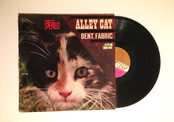 Vinyl Album Bent Fabric Alley Cat LP Record by CharmCityRecords