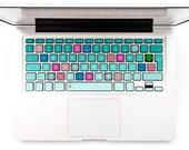 Keyboard decals macbook Mandala decals pink blue design Macbook Decal Keyboard Decal Macbook Decal Macbook Air Stickers Mint green mandala