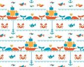Seafaring, Birch Organic Fabrics Marine Too Collection by Dan Stiles 3505