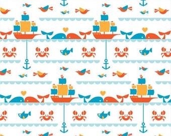 Seafaring, Birch Organic Fabrics Marine Too Collection by Dan Stiles