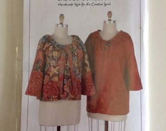 Indigo Junction Misses' Gathering Jacket - IJ841 New, Unused, Uncut, Factory Folded Pattern