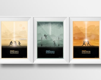 Star Wars: Prequel Trilogy Poster Collection (Unofficial)