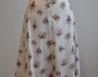 Deadstock 1980's floral skirt