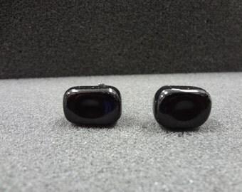 Vintage Black Onyx Cuff links by Dante