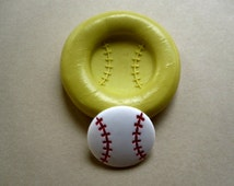 Baseball Flexible Silicone Mold/Food Grade