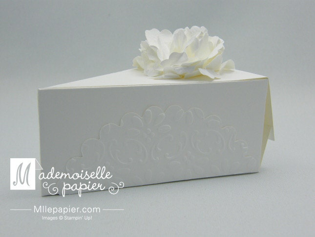 Cake Slice Boxes By MllePapier On Etsy