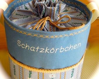 Knitting Bag, Project Bag, knitting basket, wool basket, knitting accessories, crochet, knitting