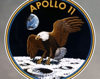 Apollo 11 Stickers