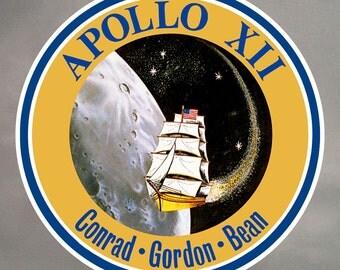 Apollo 12 Stickers