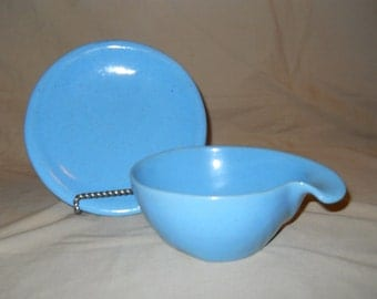 Frankoma plate and bowl