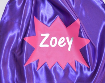 NAME Superhero Cape Personalized with Full Name