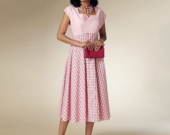 Butterick Sewing Pattern B6212 Misses' Pullover Back-Wrap Dresses
