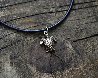 Love Turtle Choker Necklace
