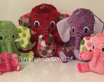 The Elephant Family - Machine Embroidery ITH - 4x4, 5x7, 6x10, 7x12 and 8x14 hoop - Vp3. Vip, Pes, Hus, Exp,  DST,  XXX & Jef formats.