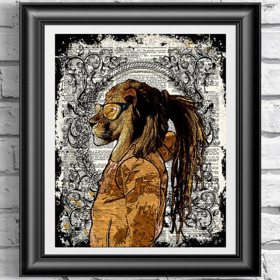 Lion hipster - photo#55