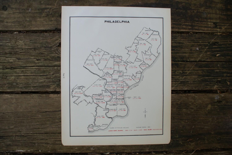 Large Philadelphia Map Antique Map Of Philadelphia - Argentina map small