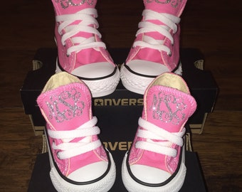 Monogram Toddler/Baby Converse Chuck Taylor MONOGRAM ONLY