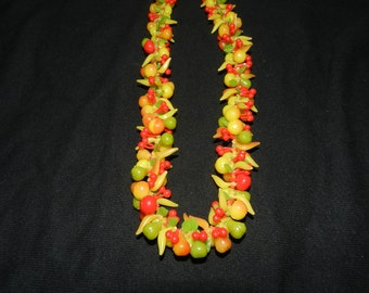 Made in Germany Plastic Fruit Necklace