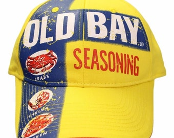 Old Bay Yellow Can Adjustable Hat