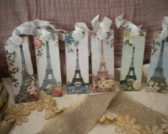 Hanging / Gift Tags /  Paris / Eiffel Tower
