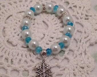 Frozen bracelets, disney frozen jewellery, childrens frozen bracelets, Ana and Elsa jewelry