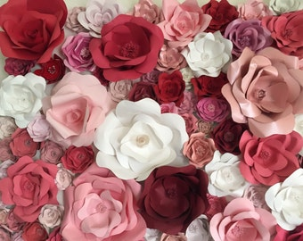 Giant Paper Flower backdrop , I can make custome backdrop  any size any color . This is a 5 X 4
