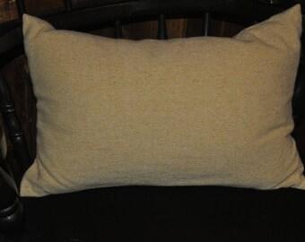 Buttercream Yellow Wool Pillow Cover