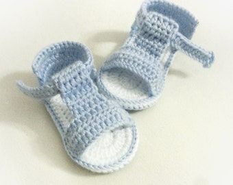 Crochet Baby Sandals, Crochet Baby Shoes, Summer Shoes