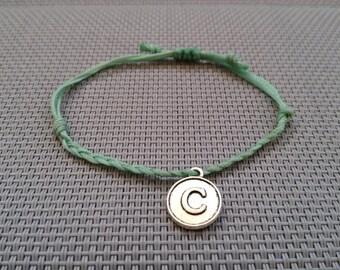 Initial C Bracelet, Friendship, C Pendant,Bracelet, Hope  Charm Bracelet, Initial C, C letter, C Charm, Initial Tags, Monogram, Personalized
