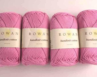 Rowan Handknit Cotton color Sugar 303 light pink, cotton yarn