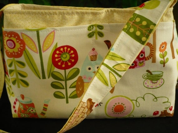 Farm Owl Mini Diaper Bag