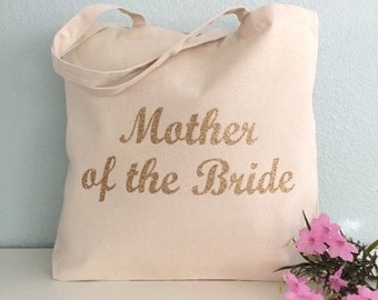 Mother of the Bride Tote Bag! Customize the colors!