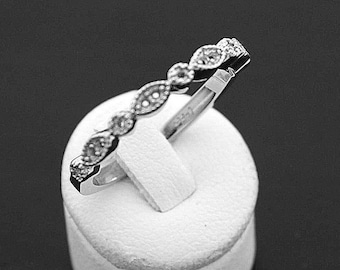 14 Karat White Gold Ladies Wedding Band! Set your own diamonds or gemstones & Save! Call Us for more info. Made in the USA!!!