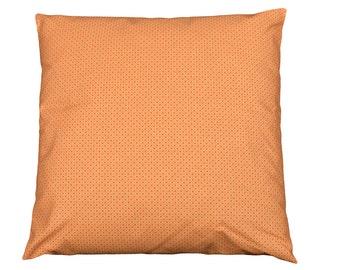 Cushion / cover removable 40x40cm fabric 'Sistine Orange'