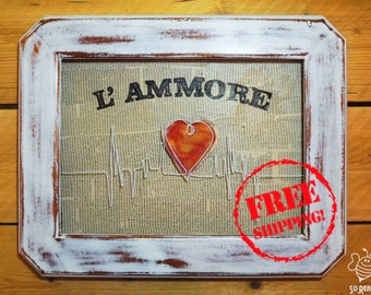 L'Amore, Decorative Art, Love,  Contemporary art
