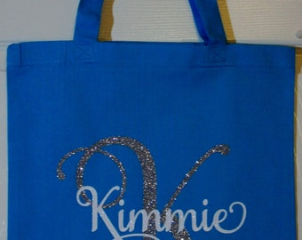 Custom Bridal Party Gift Bags - Customize for names, colors, and title of your bridal party!
