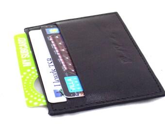 Mens Handmade Genuine Leather Credit Card holder