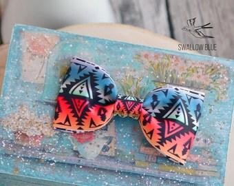 Bow tie geometric&tribal print