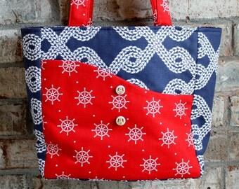 Nautical Tote / Handbag