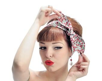 Rock Rockabilly 50s Pin up headscarf