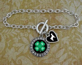 Custom Animal/Specialty 4-H Bracelet - 54660