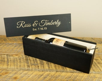Wine Box - Personalized Wine Box