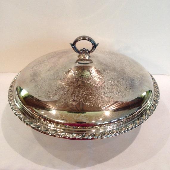 Metal Casserole Holder Oneida Glass Pyrex Bowl Liner